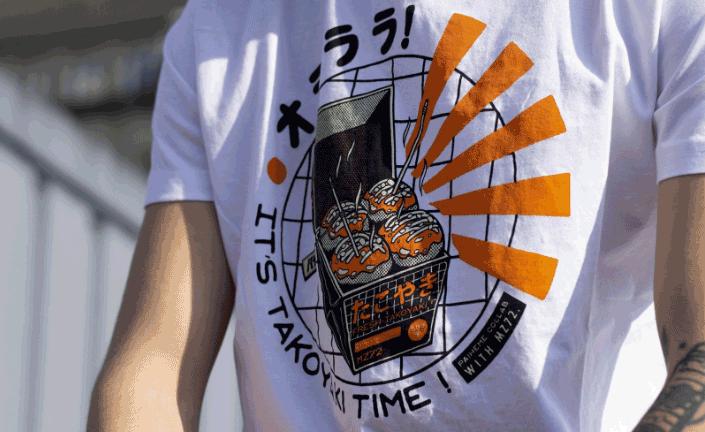最新流行街舞个性化潮流T恤定制印刷