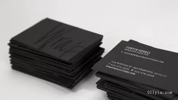 黑卡名片设计欣赏