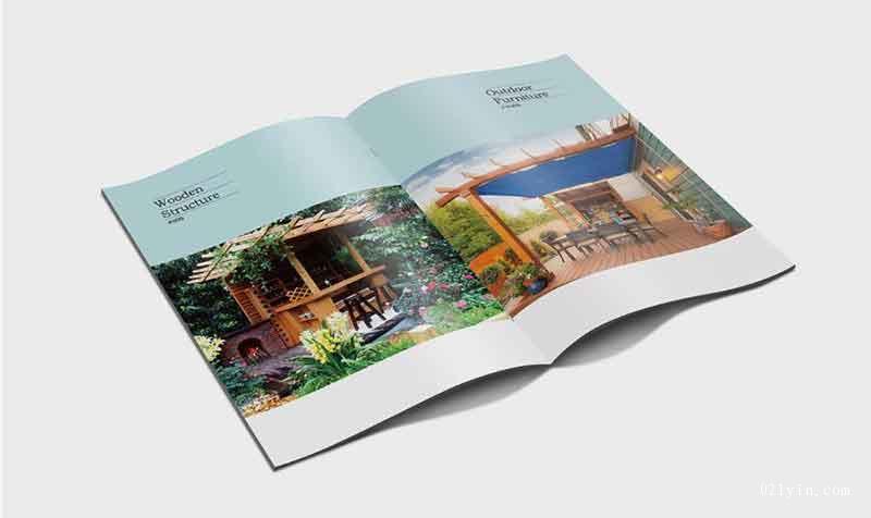 景观工程画册印刷