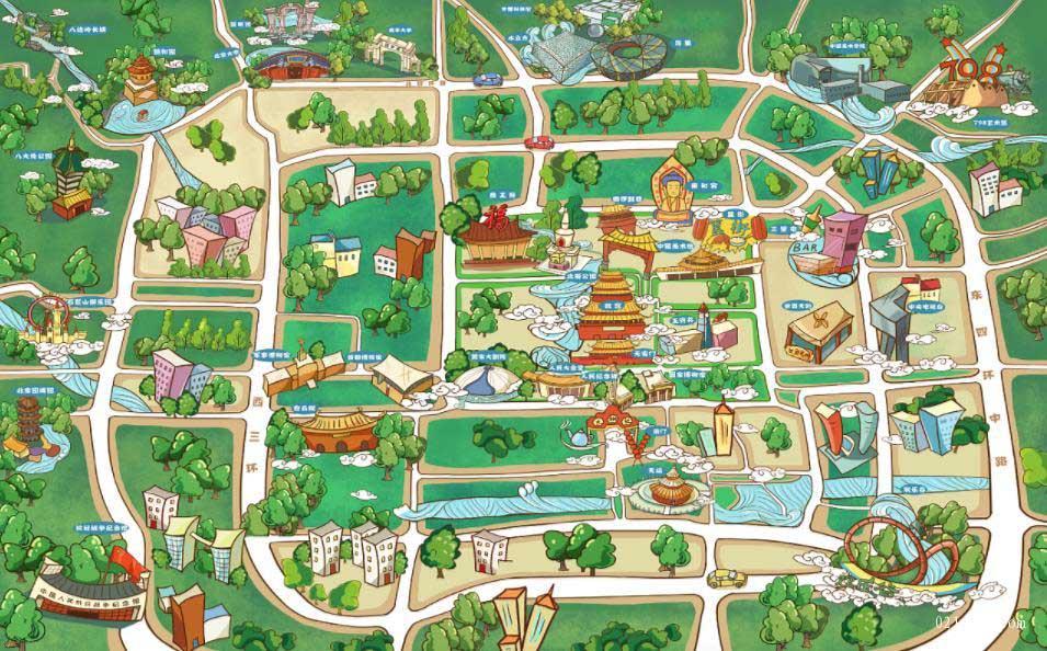 景点地图 第1张