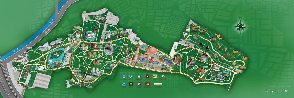 景区地图印刷