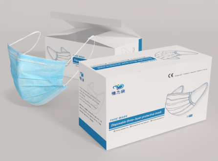 上海医用口罩包装盒印刷的几个色彩搭配