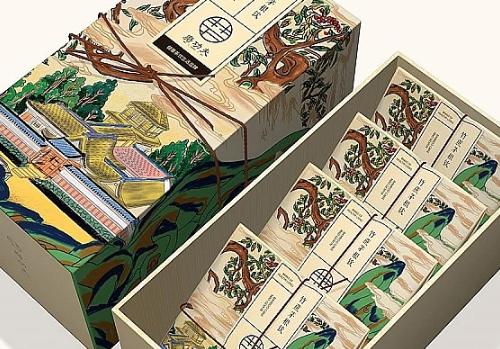 护肤品包装盒印刷的习惯性颜色怎么调整?