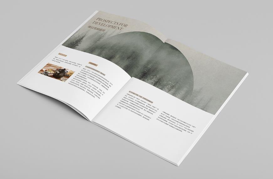 美食全套宣传册印刷设计方法技巧    第1张