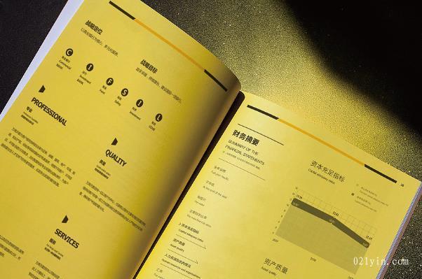上海印刷公司从哪些角度做好公司画册设计欣赏