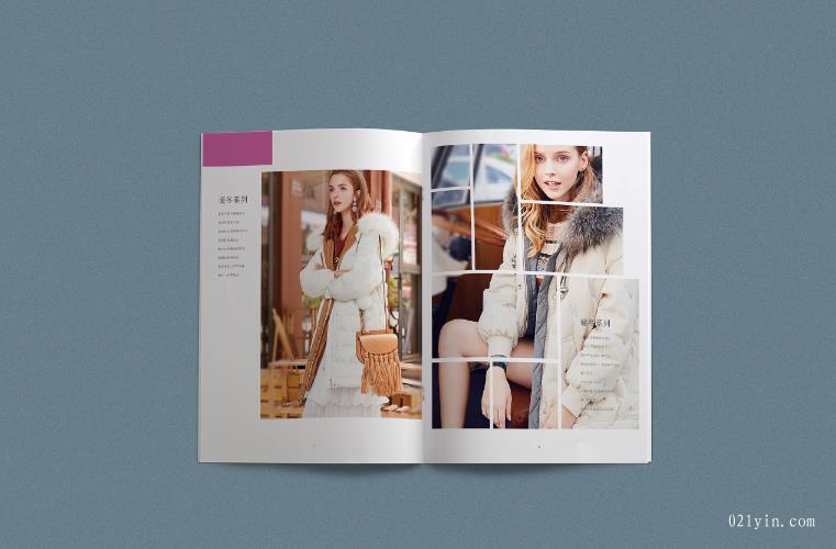 服装画册设计欣赏    第2张