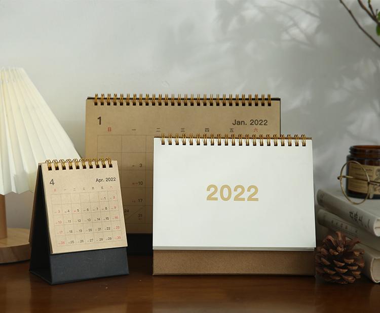 2022年企业台历印刷